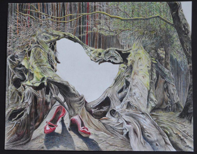 WildCrayon on paper40x50cm